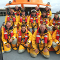Coswain and crew of Spirit of Guernsey