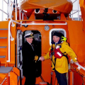 Lt-Governor Vice Admiral Ian Conder's arrival in Guernsey 14-03-16 Pic by Tony Rive (27)