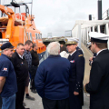 Visit of Admiral Pascal Ausseur's visit to St Peter Port 18-10-16 Pic by Tony Rive (3)