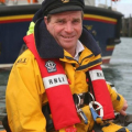 Coxswain of the Spirit of Guernsey Buz White MBE