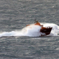 Lifeboat Spirit of Guernsey in rough sea's south of Guernsey 11-01-15 Pic by Tony Rive (13).jpg