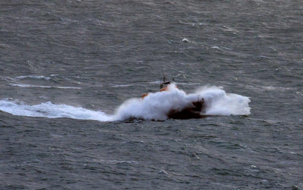 Spirit of Guernsey on Crew Training around Guernsey 11-01-15 Pic by Tony Rive (2)