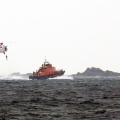 Winching Exercise with Helicopter and the St Peter Port Lifeboat Spirit of Guernsey 23-03-17 Pic by Tony Rive (6)