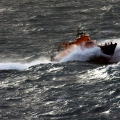 Lifeboat Spirit of Guernsey in rough sea's south of Guernsey 11-01-15 Pic by Tony Rive (12).jpg