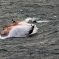 Lifeboat Spirit of Guernsey in rough sea's south of Guernsey 11-01-15 Pic by Tony Rive (14).jpg