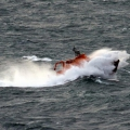 Lifeboat Spirit of Guernsey in rough sea's south of Guernsey 11-01-15 Pic by Tony Rive (15).jpg