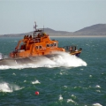 Pic by Tony Rive 11-03-07St Peter Port Lifeboat Spirit of Guernsey leaving harbour