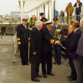 Lt-Governor Ian Conder arriving in Guernsey 2016