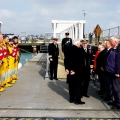Lt-Governor Vice Admiral Ian Conder's arrival in Guernsey 14-03-16 Pic by Tony Rive (17)