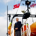 Lt-Governor Vice Admiral Ian Conder's arrival in Guernsey 14-03-16 Pic by Tony Rive (24)