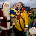 Picture:Brian Green - 28/11/09 - RNLI - Father Christmas