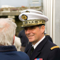 Visit of Admiral Pascal Ausseur's visit to St Peter Port 18-10-16 Pic by Tony Rive (4)