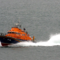 Guernsey's Relief Lifeboat Daniel L Gibson on Lifeboat Day 05-07-14 Pic by Tony Rive (1).jpg