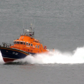 Guernsey's Relief Lifeboat Daniel L Gibson on Lifeboat Day 05-07-14 Pic by Tony Rive (2).jpg