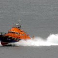 Guernsey's Relief Lifeboat Daniel L Gibson on Lifeboat Day 05-07-14 Pic by Tony Rive (3).jpg