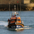 Hoylake Lifeboat Edmund Hawthorn Micklewood (13-06) arriving in St Peter Port 01-11-14 Pic by Tony Rive (2).jpg