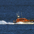 Lifeboat Edmund Hawthorn Micklewood (13-06) heading for St Peter Port from Cowes 01-11-14 Pic by Tony Rive (12).jpg