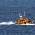 Lifeboat Edmund Hawthorn Micklewood (13-06) heading for St Peter Port from Cowes 01-11-14 Pic by Tony Rive (5).jpg