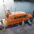 Lifeboat Edmund Hawthorn Micklewood (13-06) refuelling in St Peter Port 01-11-14 Pic by Tony Rive (4).jpg