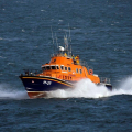 Lifeboat Volunteer Spirit on Exercise in the Little Russel 23-10-16 Pic by Tony Rive (1)