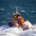 Lifeboat Volunteer Spirit on Exercise in the Little Russel 23-10-16 Pic by Tony Rive (2)