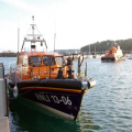 Lifeboats  13-06 Edmund Hawthorn Micklewood and Daniel L Gibson 17-38 in St Peter Port harbour 01-11-14 Pic by Tony Rive (2).jpg