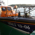 Lifeboats  13-06 Edmund Hawthorn Micklewood and Daniel L Gibson 17-38 in St Peter Port harbour 01-11-14 Pic by Tony Rive (3).jpg