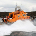 Relief Lifeboat Volunteer Spirit arriving from Plymouth to St Peter Port 10-10-16 Pic by Tony Rive (18)