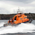 Relief Lifeboat Volunteer Spirit arriving from Plymouth to St Peter Port 10-10-16 Pic by Tony Rive (19)
