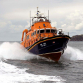 Relief Lifeboat Volunteer Spirit arriving from Plymouth to St Peter Port 10-10-16 Pic by Tony Rive (24)