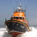 The Relief Lifeboat Daniel L Gibson arriving in Guernsey from Poole 07-06-14 Pic by Tony Rive (11).jpg
