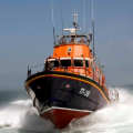The Relief Lifeboat Daniel L Gibson arriving in Guernsey from Poole 07-06-14 Pic by Tony Rive (12).jpg