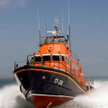 The Relief Lifeboat Daniel L Gibson arriving in Guernsey from Poole 07-06-14 Pic by Tony Rive (13).jpg