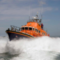 The Relief Lifeboat Daniel L Gibson arriving in Guernsey from Poole 07-06-14 Pic by Tony Rive (14).jpg