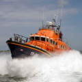 The Relief Lifeboat Daniel L Gibson arriving in Guernsey from Poole 07-06-14 Pic by Tony Rive (15).jpg