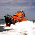 The Relief Lifeboat Daniel L Gibson arriving in Guernsey from Poole 07-06-14 Pic by Tony Rive (16).jpg