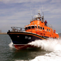 The Relief Lifeboat Daniel L Gibson arriving in Guernsey from Poole 07-06-14 Pic by Tony Rive (17).jpg