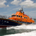The Relief Lifeboat Daniel L Gibson arriving in Guernsey from Poole 07-06-14 Pic by Tony Rive (19).jpg