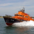 The Relief Lifeboat Daniel L Gibson arriving in Guernsey from Poole 07-06-14 Pic by Tony Rive (2).jpg