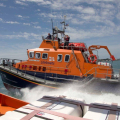The Relief Lifeboat Daniel L Gibson arriving in Guernsey from Poole 07-06-14 Pic by Tony Rive (22).jpg