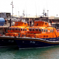 The Relief Lifeboat Daniel L Gibson arriving in Guernsey from Poole 07-06-14 Pic by Tony Rive (25).jpg
