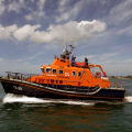 The Relief Lifeboat Daniel L Gibson arriving in Guernsey from Poole 07-06-14 Pic by Tony Rive (4).jpg