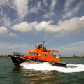 The Relief Lifeboat Daniel L Gibson arriving in Guernsey from Poole 07-06-14 Pic by Tony Rive (5).jpg