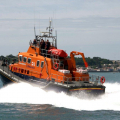 The Relief Lifeboat Daniel L Gibson arriving in Guernsey from Poole 07-06-14 Pic by Tony Rive (7).jpg
