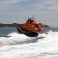 The Relief Lifeboat Daniel L Gibson arriving in Guernsey from Poole 07-06-14 Pic by Tony Rive (8).jpg