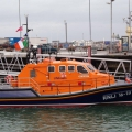 Kilmore Quay's Tamar Lifeboat Killarney in St Peter Port 25-08-10 Pic by Tony Rive (1)