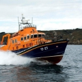 Relief Lifeboat Volunteer Spirit arriving from Plymouth to St Peter Port 10-10-16 Pic by Tony Rive (16)