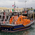 Tamar class Lifeboat from Kilmore Quay, Killarney in St Peter Port 25-08-10 Pic by Tony Rive (2)