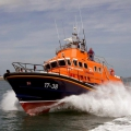 The Relief Lifeboat Daniel L Gibson arriving in Guernsey from Poole 07-06-14 Pic by Tony Rive (18).jpg