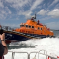 The Relief Lifeboat Daniel L Gibson arriving in Guernsey from Poole 07-06-14 Pic by Tony Rive (20).jpg